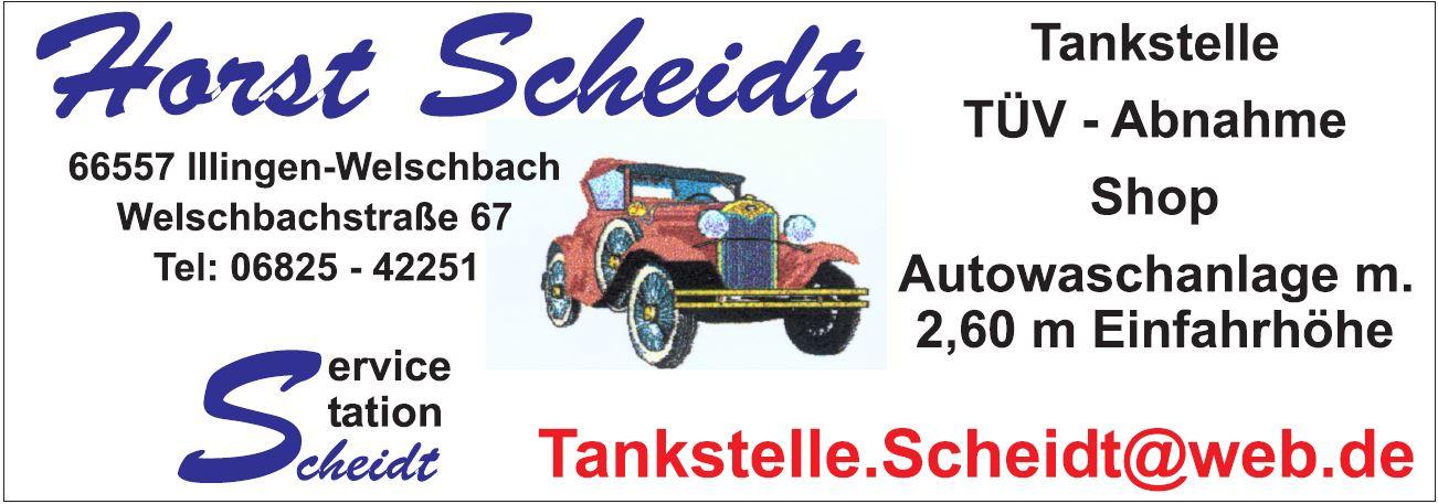 Scheidt Horst Tankestelle